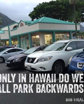 parking backwards in hawaii